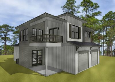 Intracoastal front rendering