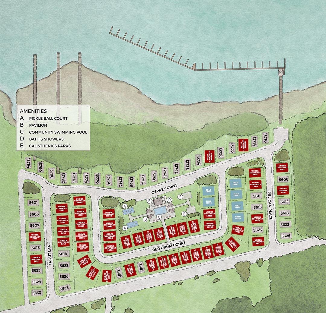 Redfish Harbor Sitemap