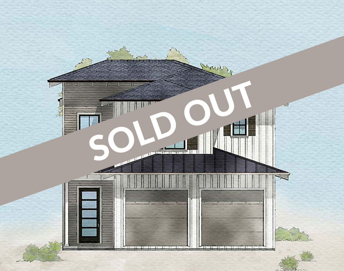 Sold out, Redfish floor plan